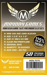 Mayday - Premium Mini Usa Sleeves 41Mm X 63Mm 50Ct