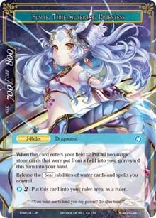 Dragon Shrine Maiden // Flute, Time Altering Priestess - ENW-041 - R - Foil