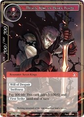 Melgis, King of Black Flame - ENW-024 - U - Foil