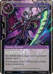 Rezzard, King of the Damned - ENW-080 - R - Foil