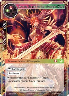 Sylvia, Blade of the Supreme King - ENW-092 - R - Foil