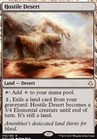 Hostile Desert - Foil