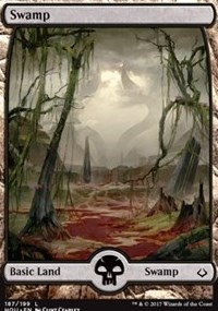 Swamp (Full Art) - Foil