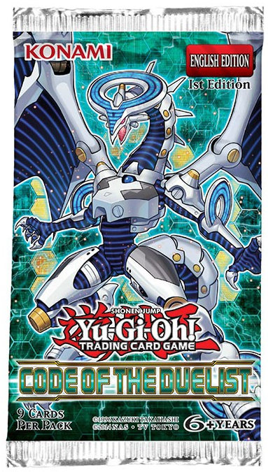 Code Of The Duelist 1st Edition Booster Pack