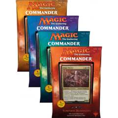 Commander 2017: Set of All 4 Decks