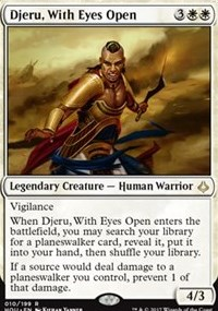 Djeru, With Eyes Open - Foil