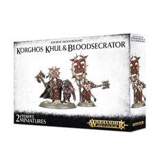 Khorne Bloodbound Korghos Khul & Bloodsecrator gaw8342