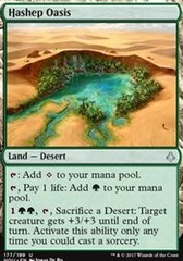Hashep Oasis on Channel Fireball