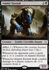 Ammit Eternal - Foil on Channel Fireball