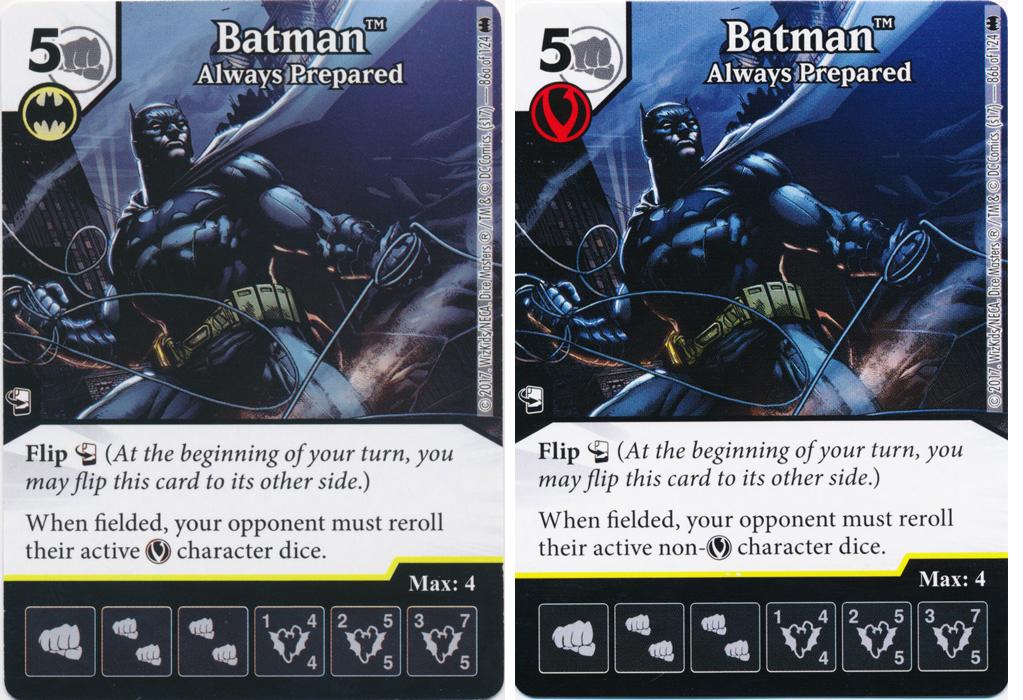 Batman - Always Prepared (Die and Card Combo)