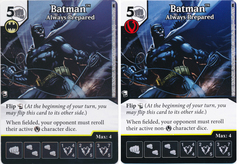 Batman - Always Prepared (Die and Card Combo)