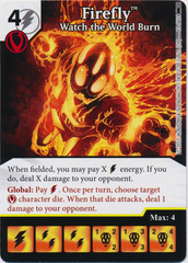 Firefly - Watch the World Burn (Die and Card Combo)