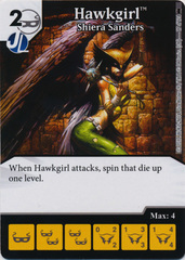 Hawkgirl - Shiera Sanders (Die and Card Combo)