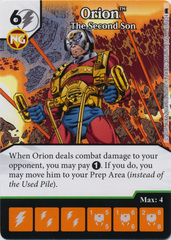 Orion - The Second Sun (Die and Card Combo)
