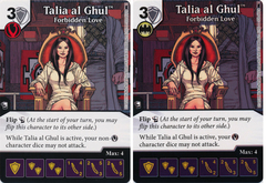 Talia al Ghul - Forbidden Love (Die and Card Combo)