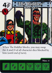 The Riddler - What Am I? (Die and Card Combo)