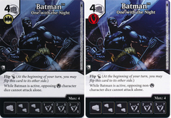 Batman - One with the Night (Die and Card Combo) - Foil