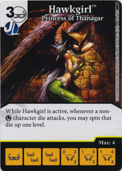 Hawkgirl - Princess of Thanagar (Die and Card Combo) - Foil
