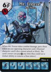Mr. Freeze - For Nora (Die and Card Combo) - Foil