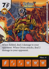 Orion - Astro-Force Powered Harness (Die and Card Combo) - Foil