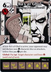Ra's al Ghul - Fighting Death Himself (Die and Card Combo) - Foil