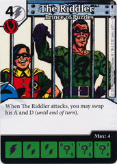 The Riddler - Prince of Puzzles (Die and Card Combo) - Foil