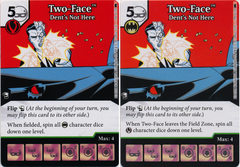 Two-Face - Dents Not Here (Die and Card Combo) - Foil