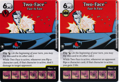 Two-Face - Fair is Fair (Die and Card Combo) - Foil
