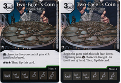 Two-Faces Coin - Heads, I Win (Die and Card Combo) - Foil