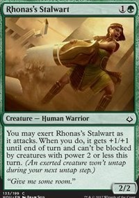 Rhonas's Stalwart - Foil