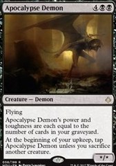 Apocalypse Demon on Channel Fireball