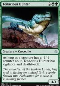 Tenacious Hunter - Foil