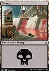 Swamp - Foil (195)(HOU)