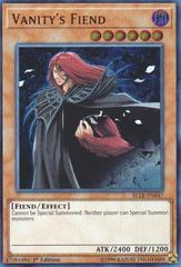 Vanity's Fiend - BLLR-EN047 - Ultra Rare - 1st Edition on Channel Fireball