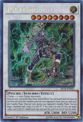 PSY-Framelord Omega - BLLR-EN061 - Secret Rare - 1st Edition on Channel Fireball