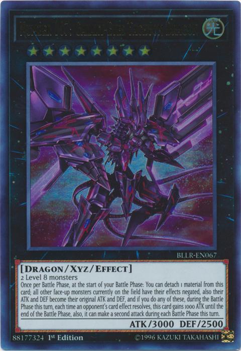 Number 107: Galaxy-Eyes Tachyon Dragon - BLLR-EN067 - Ultra Rare - 1st Edition