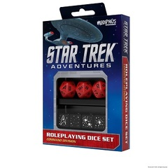 Star Trek Adventures: Dice Set - Command Red