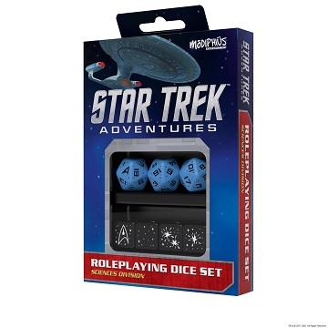 Star Trek Adventures: Dice Set - Sciences Blue