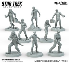 Star Trek Adventures Next Gen Miniatures 32Mm