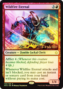 Wildfire Eternal - Foil - Prerelease Promo