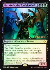 Razaketh, the Foulblooded - Foil - Prerelease Promo