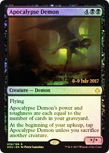 Apocalypse Demon - Foil - Prerelease Promo