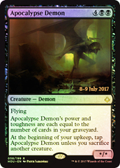 Apocalypse Demon - Foil - Prerelease Promo on Channel Fireball