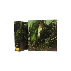 Dragon Shield Slipcase Binder - Green (Radix The Living Root)