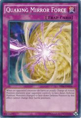 Quaking Mirror Force - SR04-EN036 - Common - Unlimited Edition