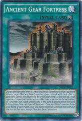 Ancient Gear Fortress - SR03-EN022 - Common - Unlimited Edition on Channel Fireball