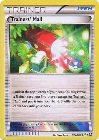Trainers' Mail - 92a/108 - Alternate Art Holo Promo