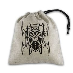 Q-Workshop - Basic Dice Bag - Vampire Beige And Black