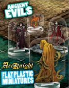 Flat Plastic Miniatures: Ancient Evils