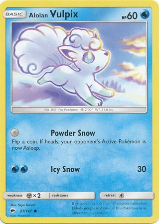 Alolan Vulpix - 27/147 - Common